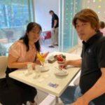 「DIYで始める空き家ビジネススタートガイド」著者の山崎幸雄さんとパフェ会